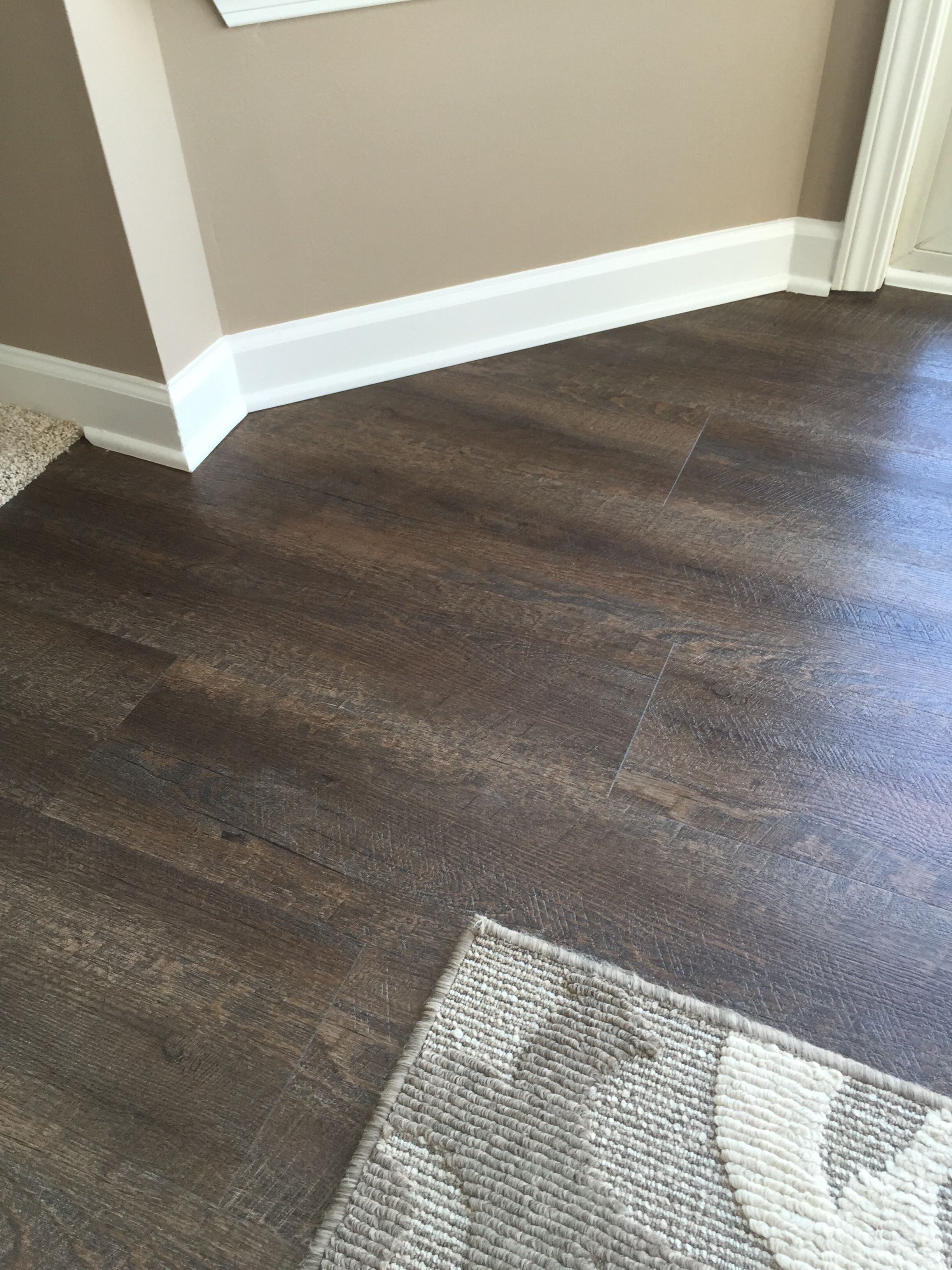 home depot kitchen flooring This is the flooring we are doing Home Depot trafficMaster Allure Sawcut Dakota Vinyl Planks Waterproof