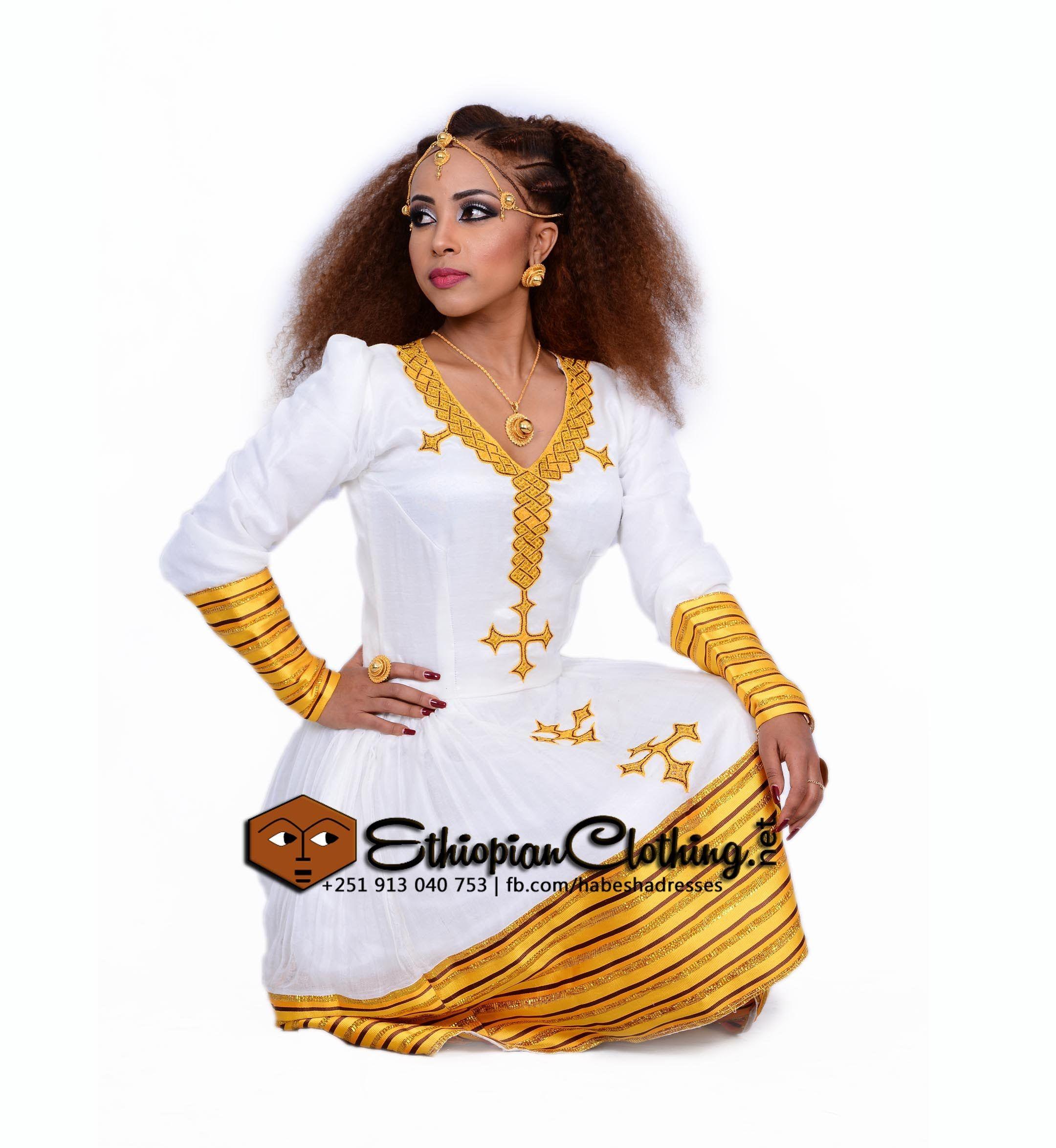 ethiopian wedding dress habesha kemis dress