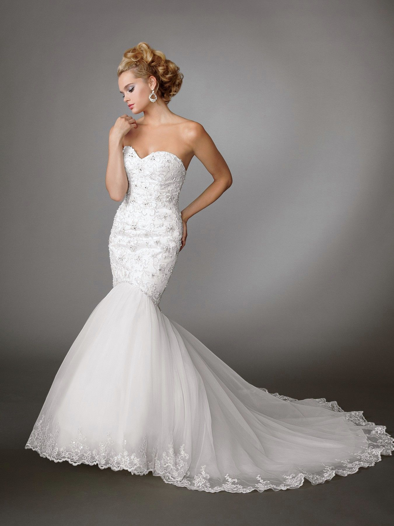 wedding dresses mermaid style Jordan Wedding Dresses Style M wedding dresses