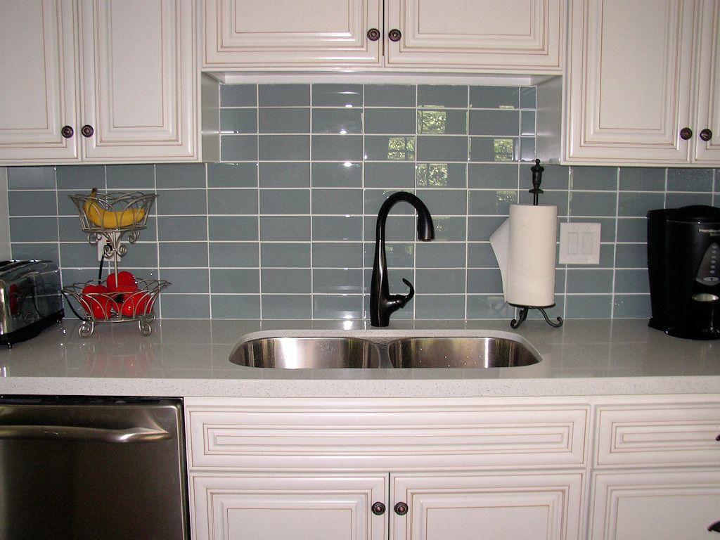Backsplash Glass Tile Ideas ☆▻ kitchen backsplash : infinity kitchen glass backsplash how to