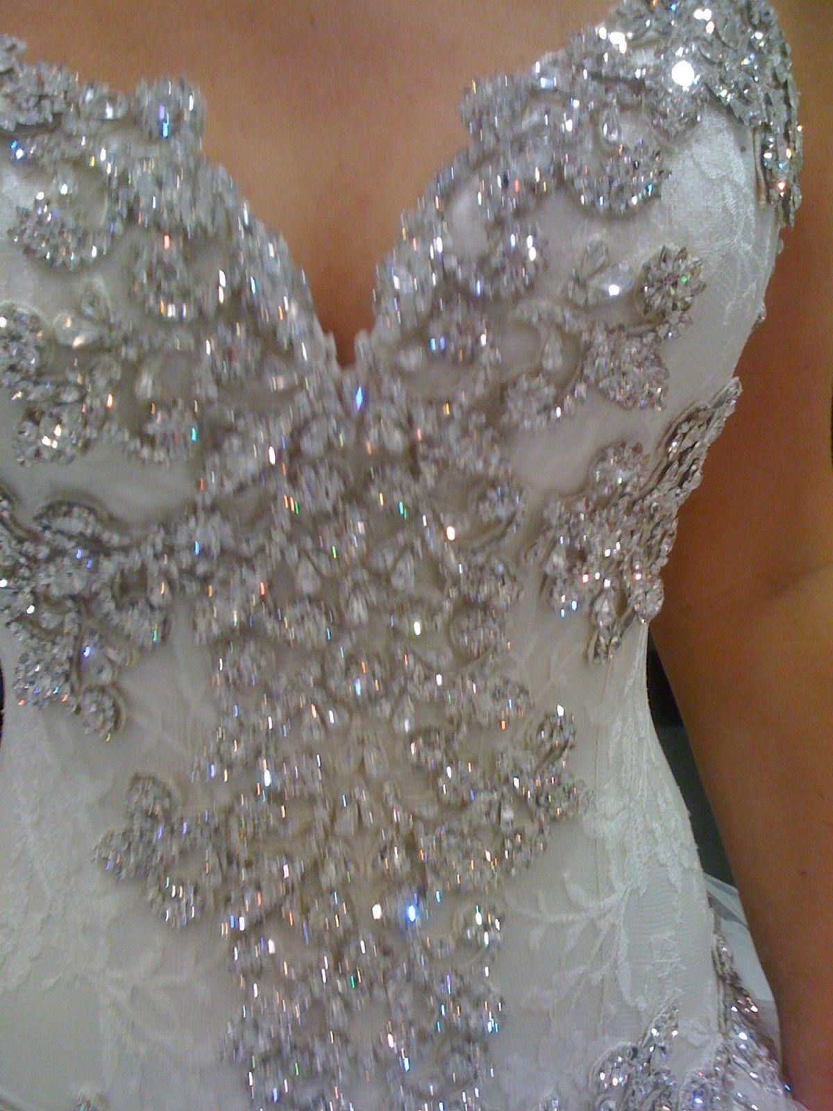 wedding dress rental Blinged Out Wedding Dresses Ad Wedding Dress USA Michigan Pnina Tornai
