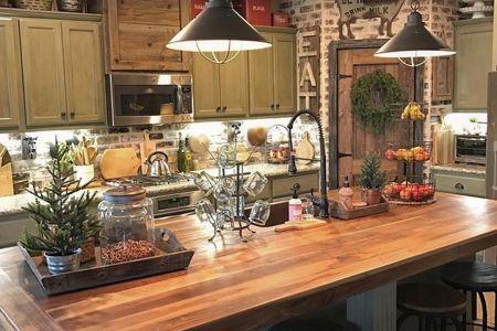 99 farmhouse kitchen ideas on a budget 2017 | farmhouse