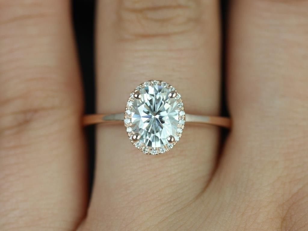 rose gold wedding rings Rose gold solitaire engagement ring with Art Deco wedding band 3 The Big Day Pinterest Rose gold Wedding and Deco