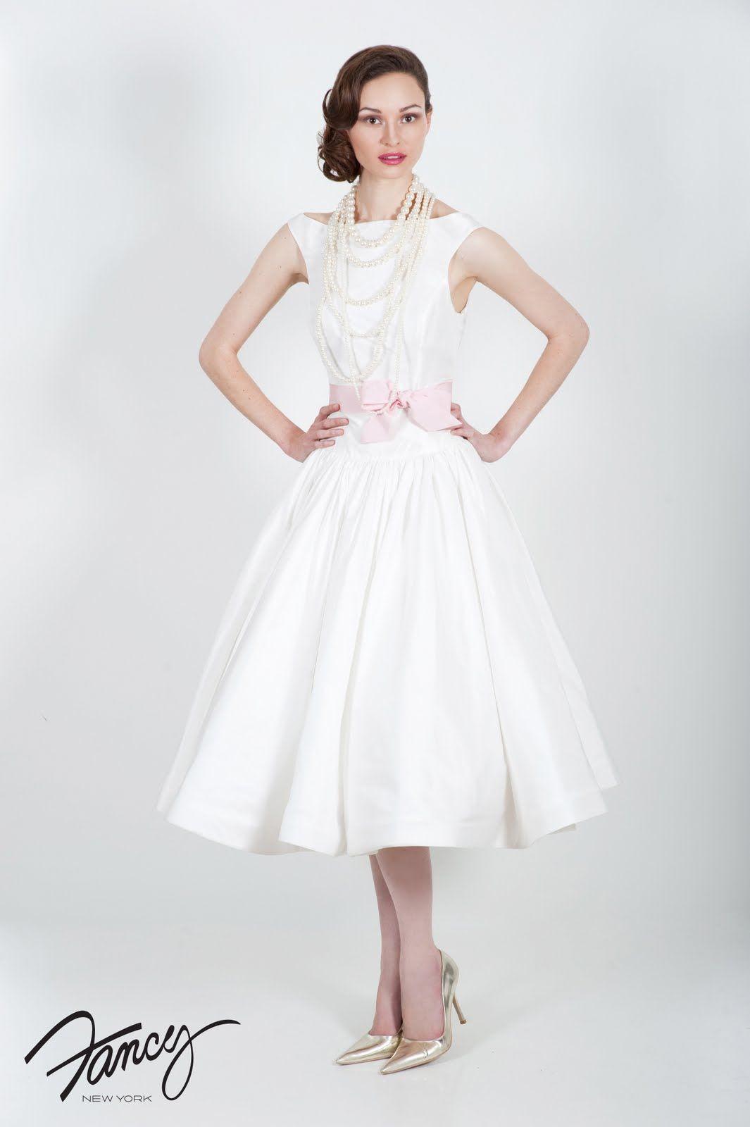 t length wedding dresses Something White Tea Time Tea Length Wedding Dresses