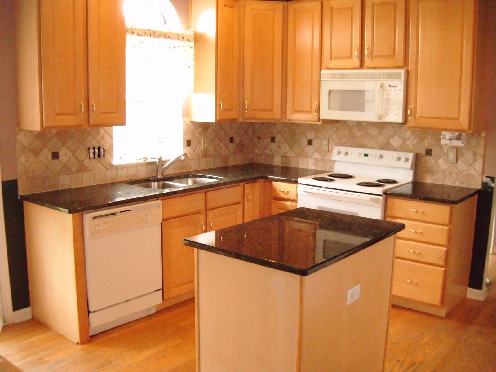 dark granite countertops with light cabinets light wood kitchen cabinets 17 Best images about Kitchen Ideas on Pinterest Whitewash cabinets Cabinets and Light wood