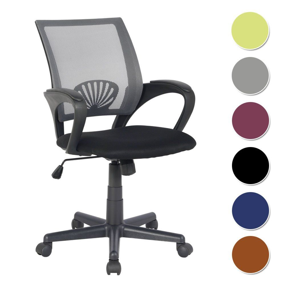 amazon kitchen chairs Office Chair Grey Black HLC Amazon