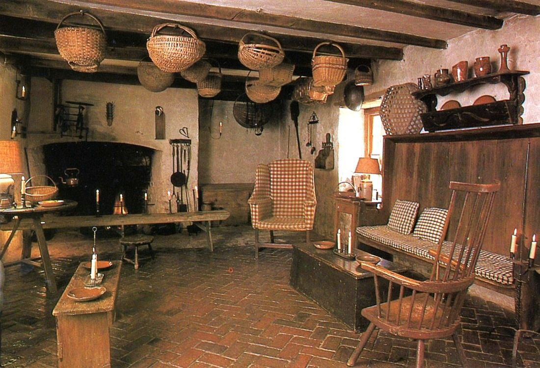 colonial kitchen design 18th century farmhouse kitchen