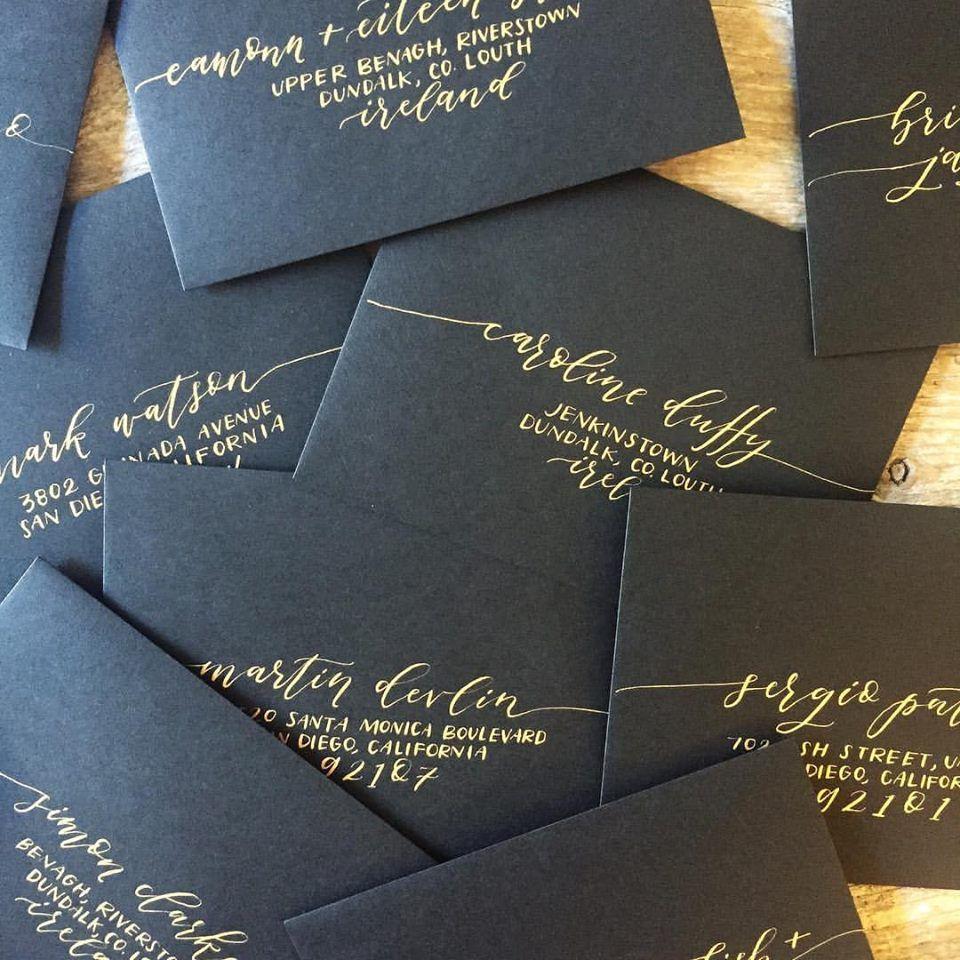 wedding invitation envelopes How to Address Wedding Invitations