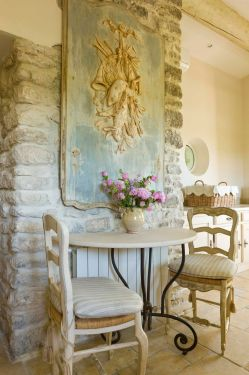 Enamour My Kitchen Tile S French Country Home That Embraces History French Country Home That Embraces History Home Country Log Home Kitchens House To Home Country Kitchens