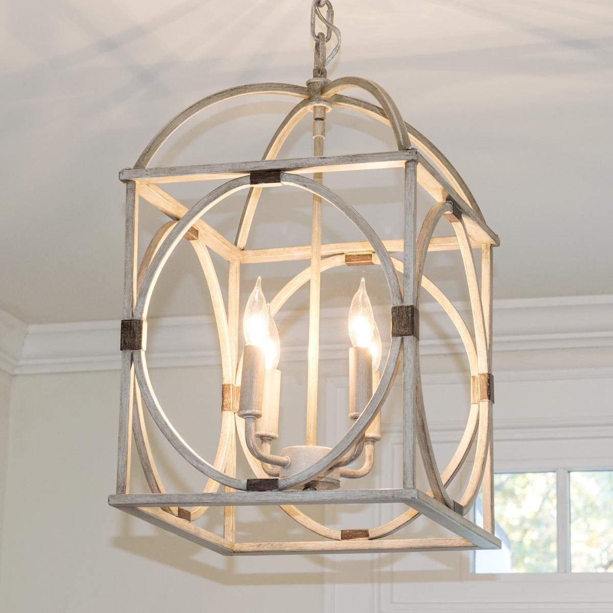 kitchen lantern lights Circle Lattice Hanging Lantern