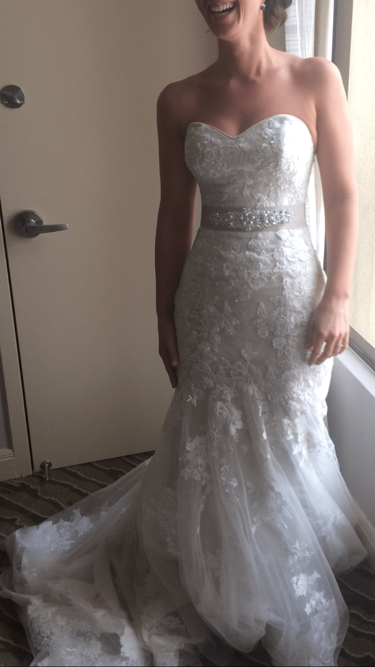 used wedding dresses Maggie Sottero Ascher Size 8 Used Wedding Dresses