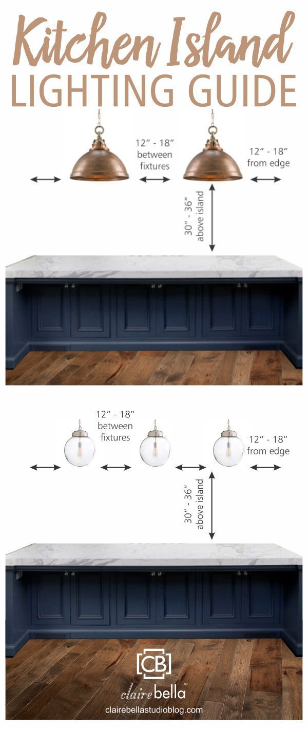 kitchen island lighting ideas Kitchen Island Lighting Guide How many lights How big How high How far apart