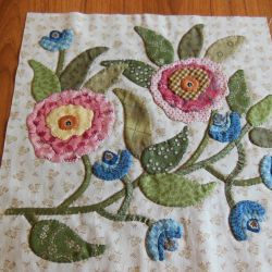 Quilting by Celia Caswell Stonefields Phebe Rowdy Pinterest