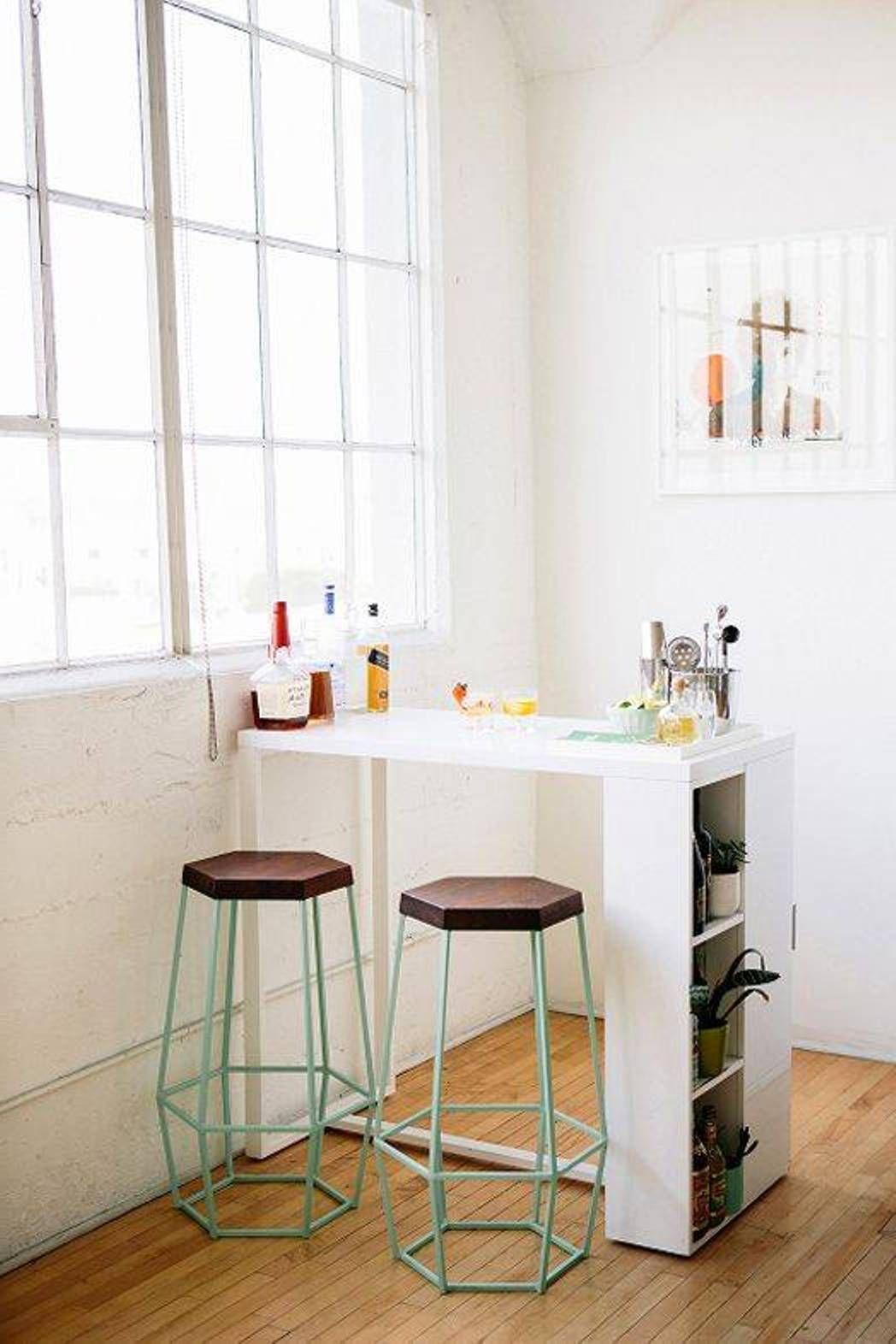bar kitchen table small kitchen table ideas Bar voor in een kleine keuken Ook leuk in een studio als scheiding tussen keuken