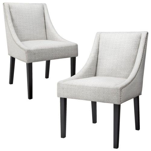 target kitchen chairs Griffin Nailhead Cutback Dining Chair Diamond Set of 2 available at target set of 2