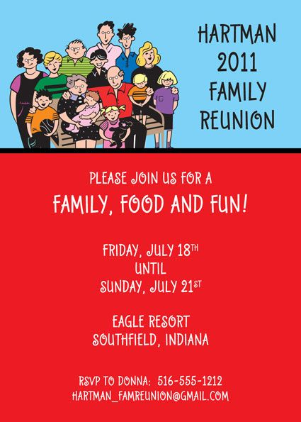Invitation card for reunion party invitationswedd family tree reunion invitation card trees reunions and stopboris Gallery