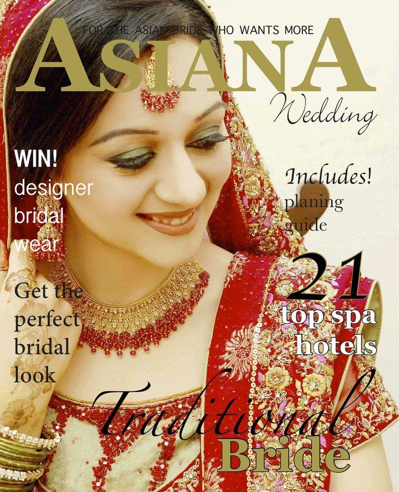 wedding magazines Asiana wedding magazine cover by Sohniii on deviantART