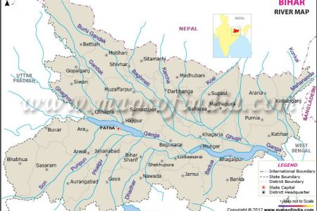 river map of bihar | india maps | pinterest | rivers, of