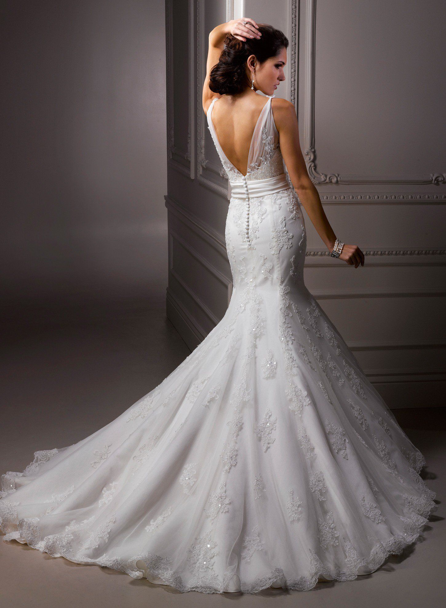 wedding dress mermaid Amazing Mermaid Wedding Dresses Fashion Diva Design