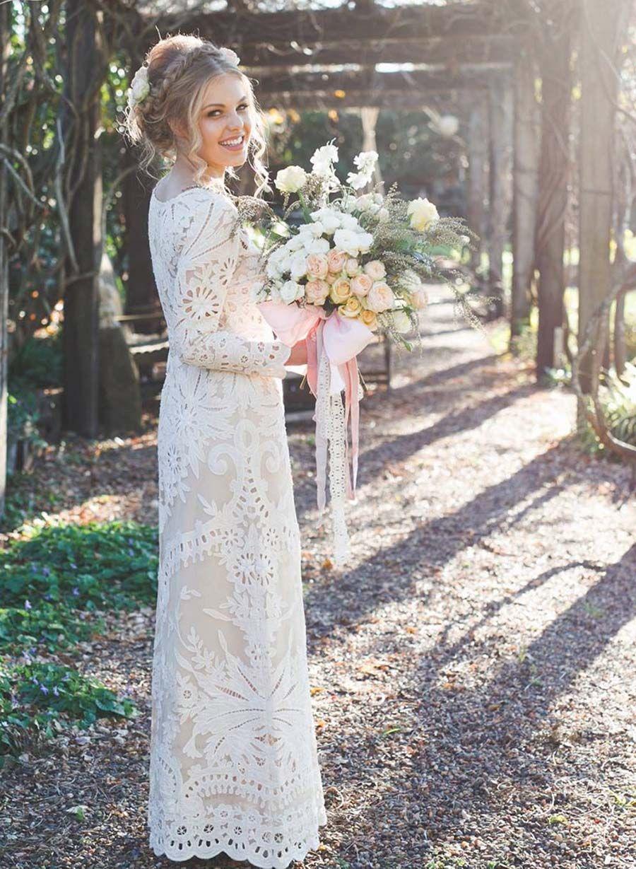 bohemian wedding dress cheap Introducing Lost In Paris Wedding Dresses for the Bohemian Bride