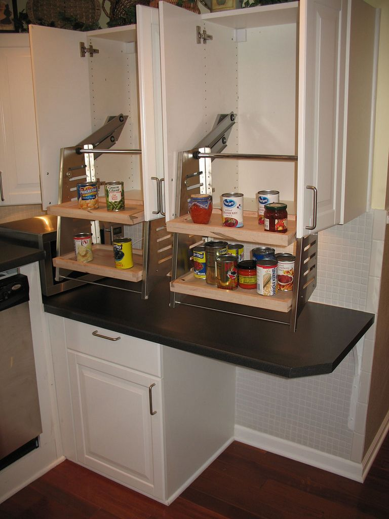 baltimore kitchen remodeling This wheelchair accessible kitchen cabinet is installed in the kitchen of the wheelchair accessible house for