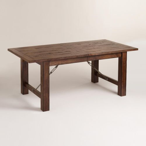 eat in kitchen table Wood Garner Extension Dining Table