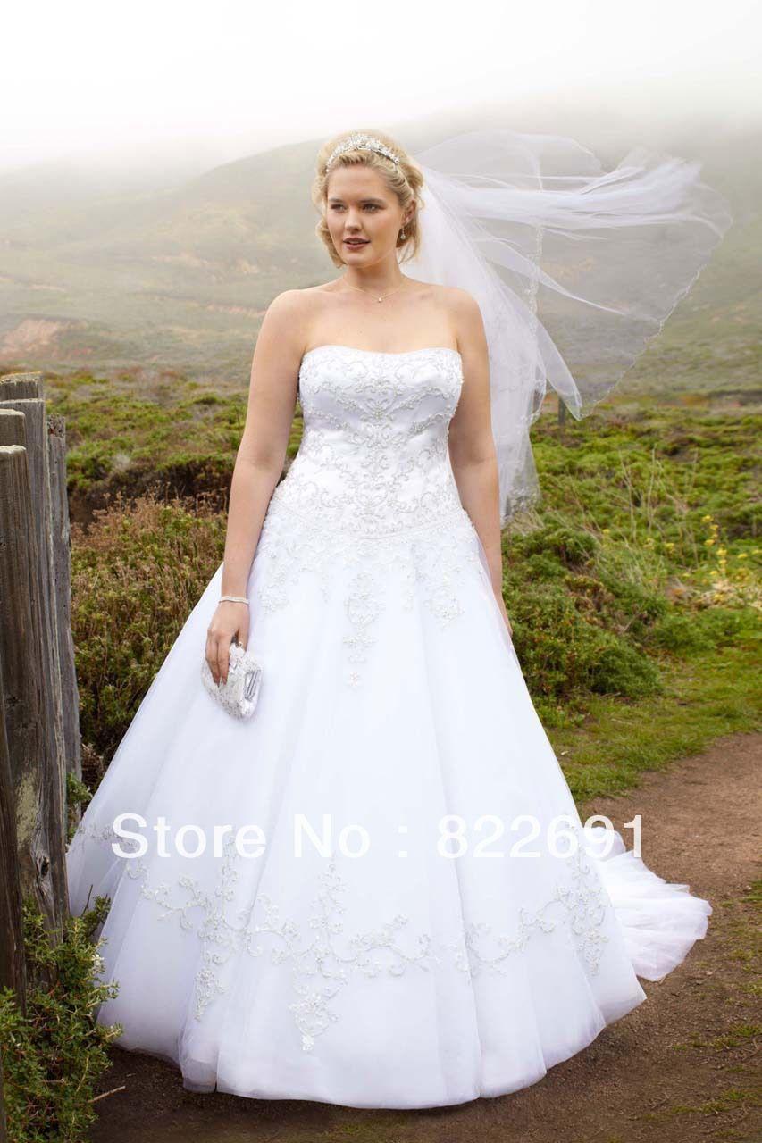 davids bridal wedding dresses A line Side Drape Strapless Gown David s Bridal Dream wedding ideas Pinterest Wedding Strapless gown and Dresses