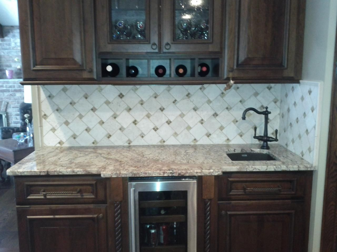 kitchen tile backslash backsplash kitchen 10 best images about kitchen tile backslash on Pinterest Kitchen backsplash design Marbles and Kitchen backsplash