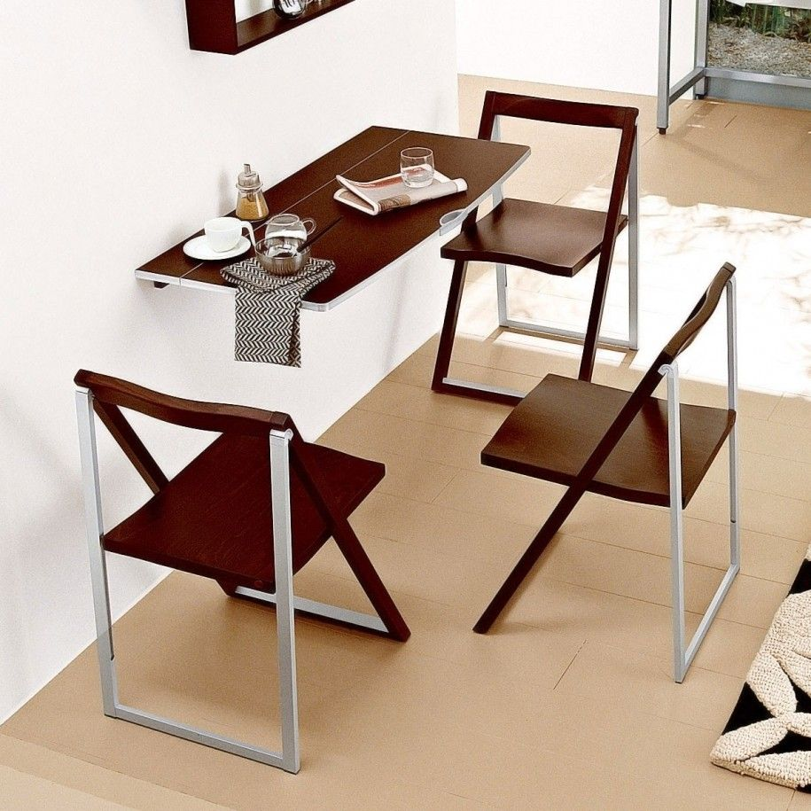 kitchen tables and more Dining Room Modern Simple Design For Small Dining Space With Floating Wooden Stainless Steel Kitchen