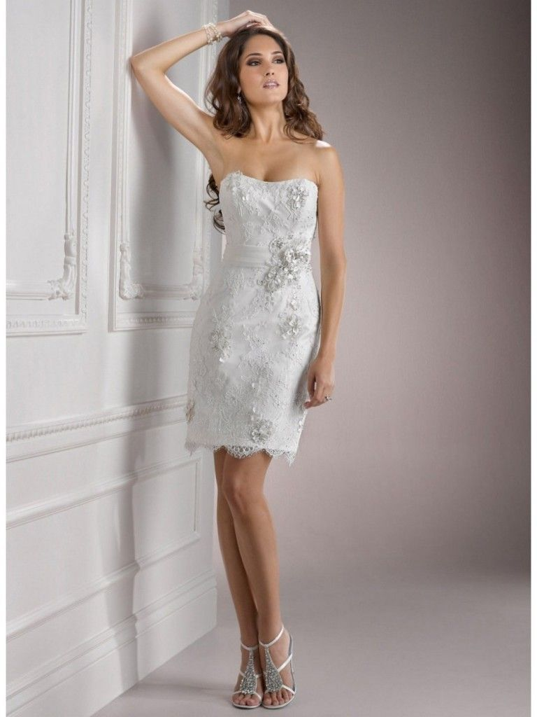 casual white wedding dress Fashionable Short White Wedding Dresses Casual Short Wedding Dress Ideal Weddings Regarding Short White Wedding