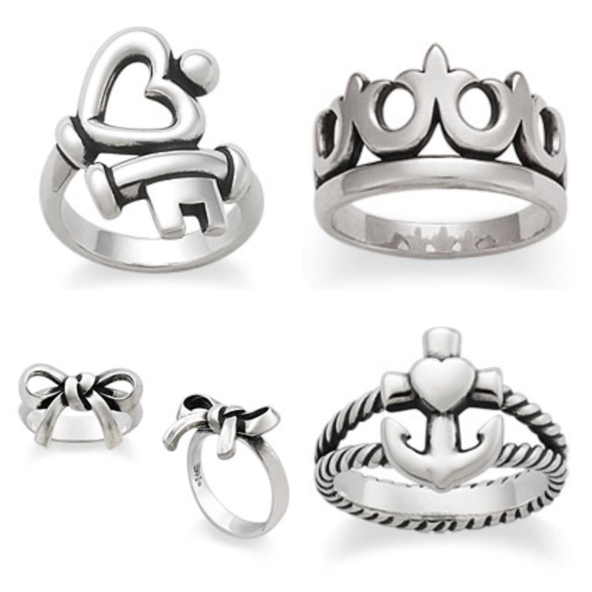james avery wedding bands My favorite James Avery rings I LOVE all of these