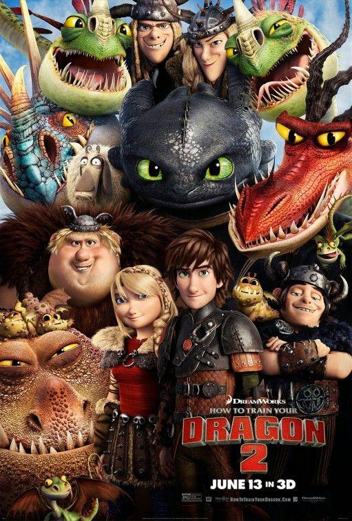 Poster do filme Como Treinar o Seu Dragão 3