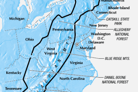 the appalachian mountains are the oldest range in north