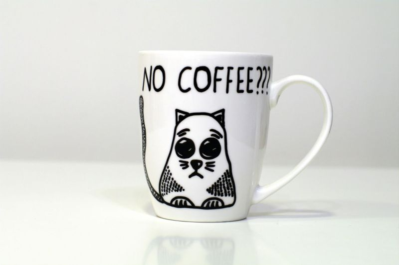 Large Of Handmade Cat Mug