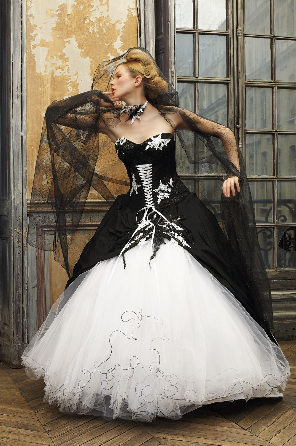 wedding dresses black wedding dresses black eli shay wedding dress collections u jewelry white black u corset and taffeta skirt trimmed