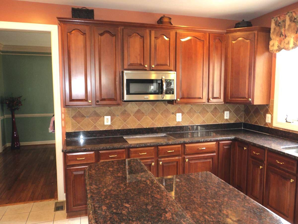 kitchen granite countertops Black Granite