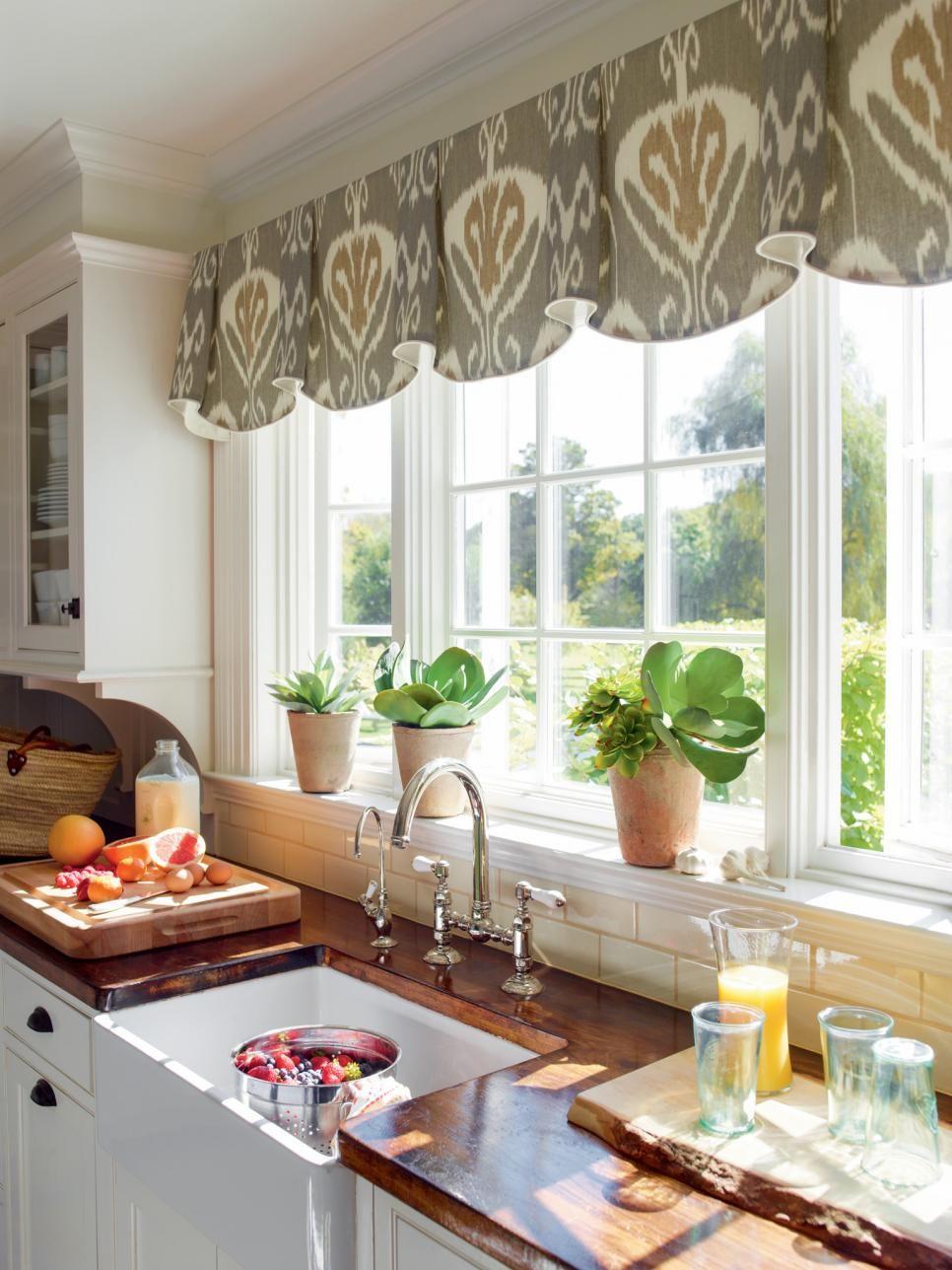 kitchen window ideas 10 Stylish Kitchen Window Treatment Ideas