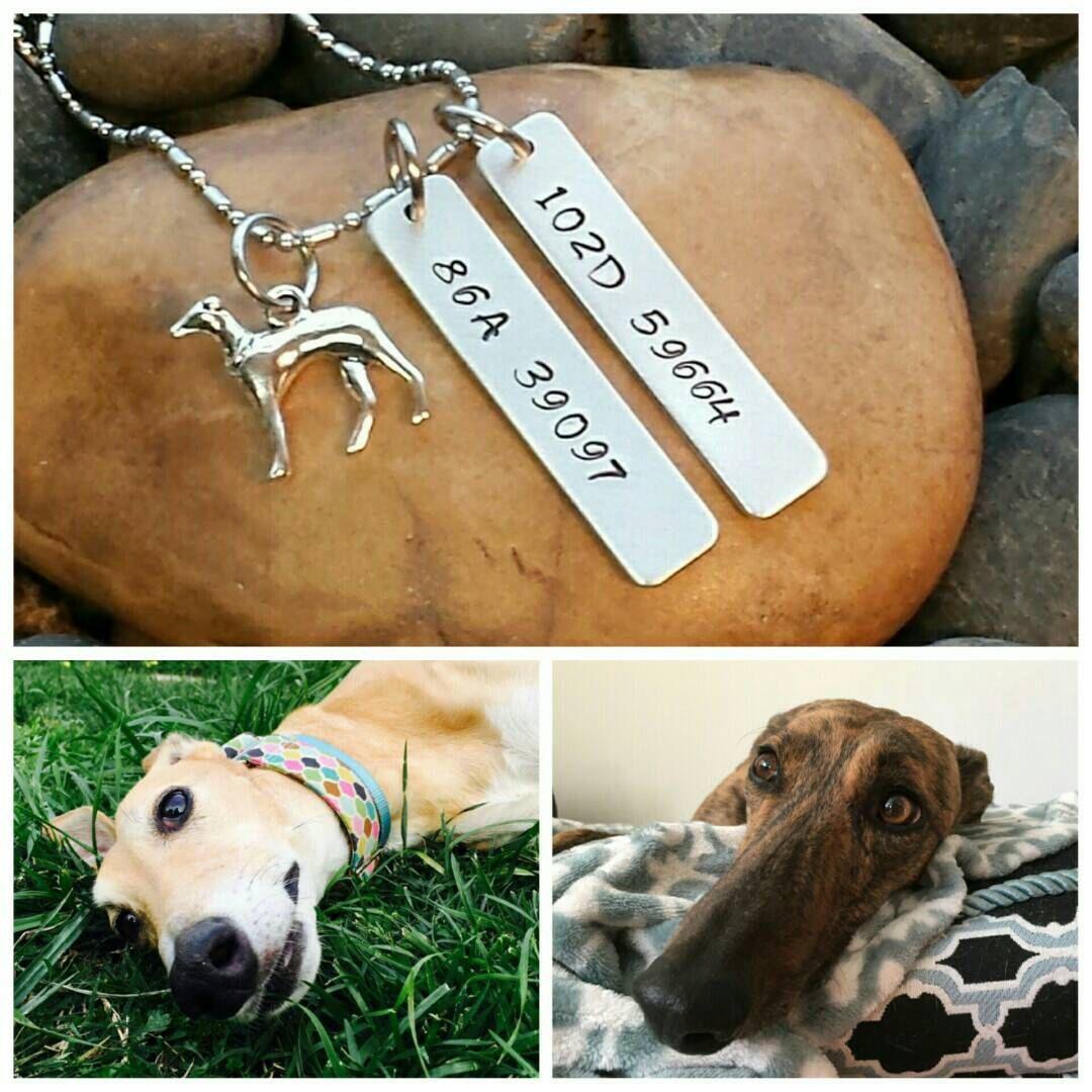 Graceful Greyhound Ear Tattoo Numbers Greyhound Jewelry Retired Greyhound Petmemorial Jewelry Pet Sympathy Gift Rainbow Bridge Jewelry Greyhound Ear Tattoo Numbers Greyhound Jewelry Retired Greyhound gifts Pet Memorial Gifts