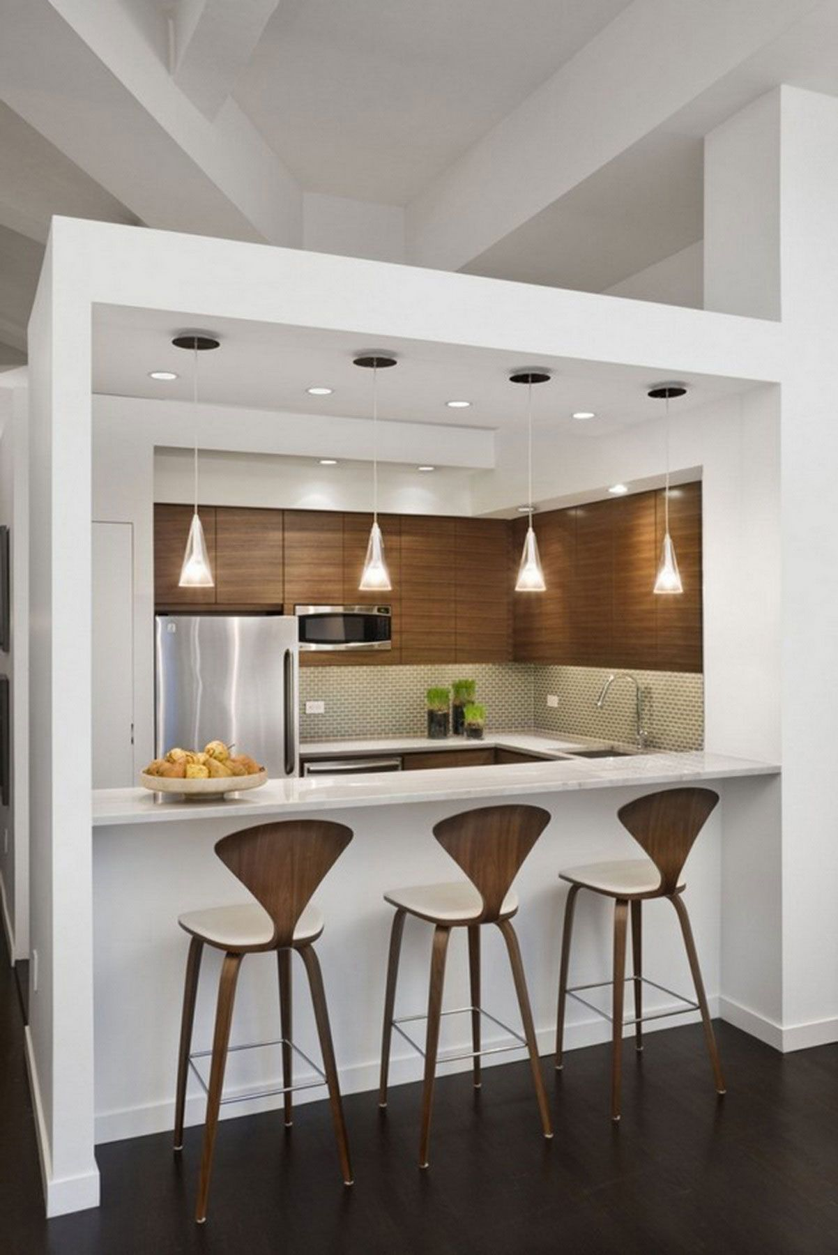 small kitchen design Check Out Small Kitchen Design Ideas What these small kitchens lack in space they