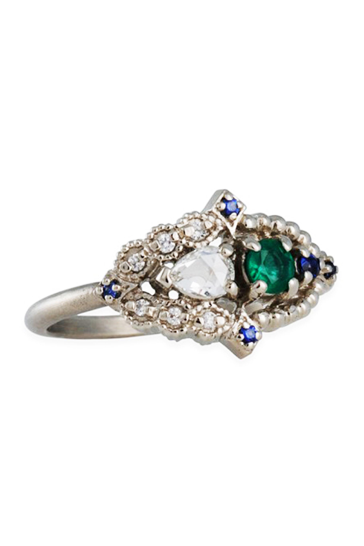 unique wedding rings 27 Unique Engagement Rings for the Nontraditional Bride