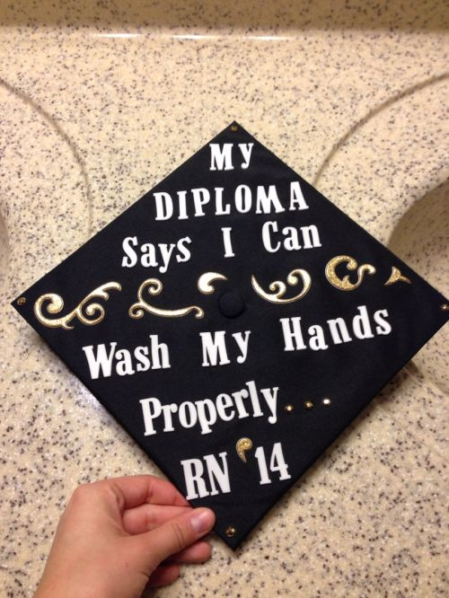 Medium Of Nursing Graduation Caps
