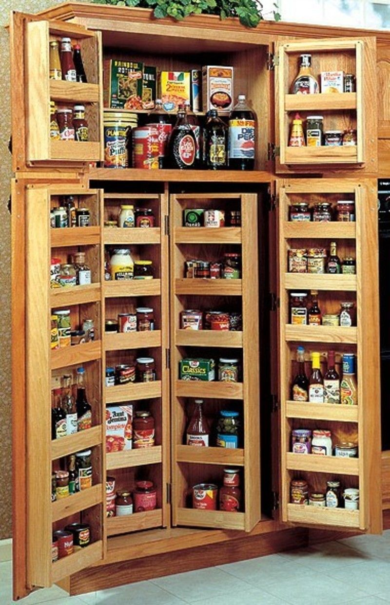 kitchen organization ideas Functional Kitchen Cabinet Storage Ideas to Make Tidy Appearance Choosing A Kitchen Pantry Cabinet