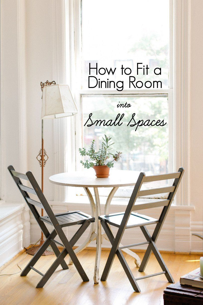 eat in kitchen table Five ways to make room for a dining table even if you live in a