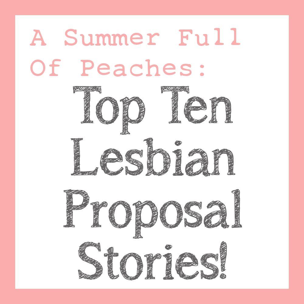 lesbian wedding ideas Most Romantic Lesbian Wedding Proposals