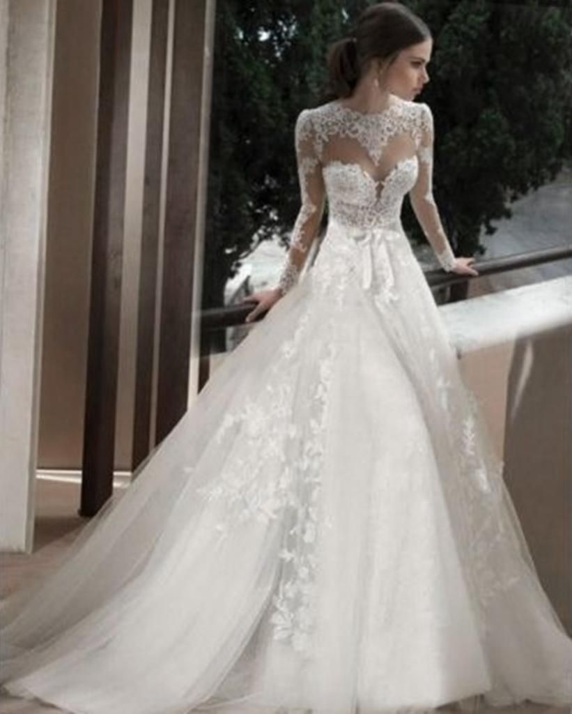 lace sleeves wedding dress big sleeved wedding gowns bridal lace dresses wedding
