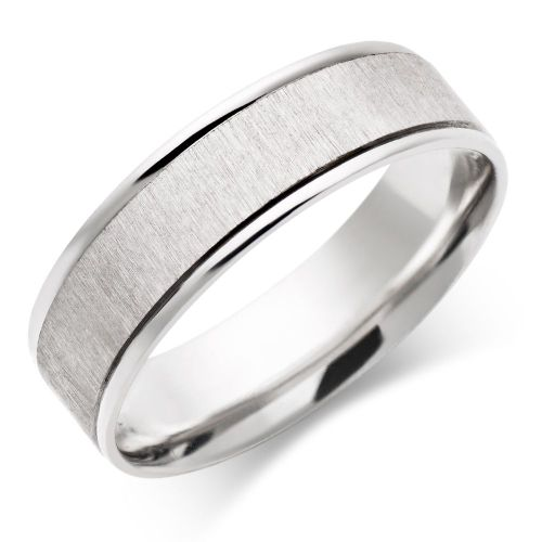 wedding bands men Wedding Rings For Men Regarding Men White Gold Wedding Ring Rough Flat Band Pccmed