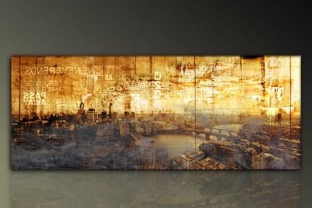 moderne wandbilder wohnzimmer paul sinus xl london skyline