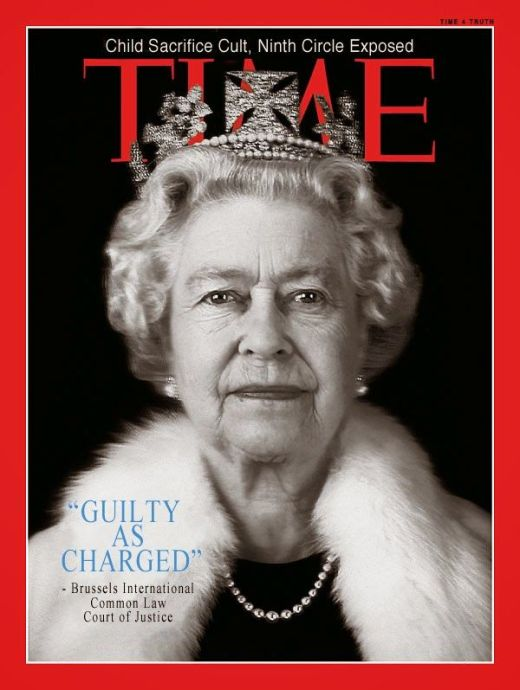 Image result for evil queen elizabeth and the rothschilds