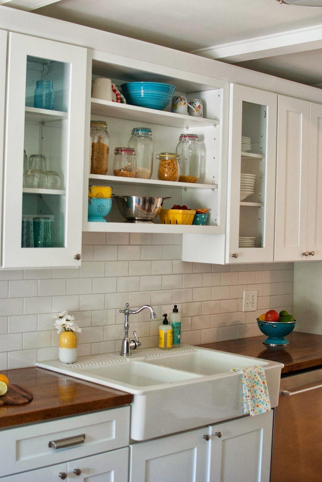 butcher block countertop tile backsplash butcher block kitchen countertops Subway Tile Backsplash With Butcher Block Google Search Cool