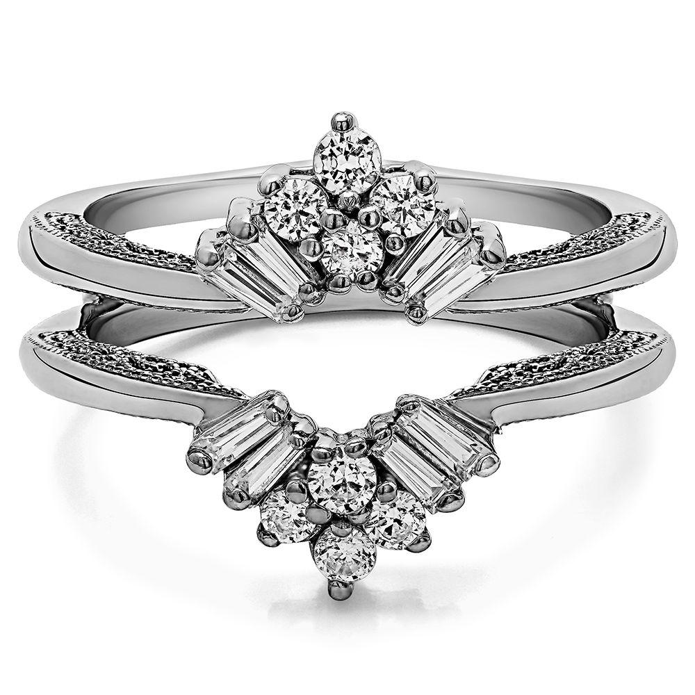wedding ring guard Ring guard